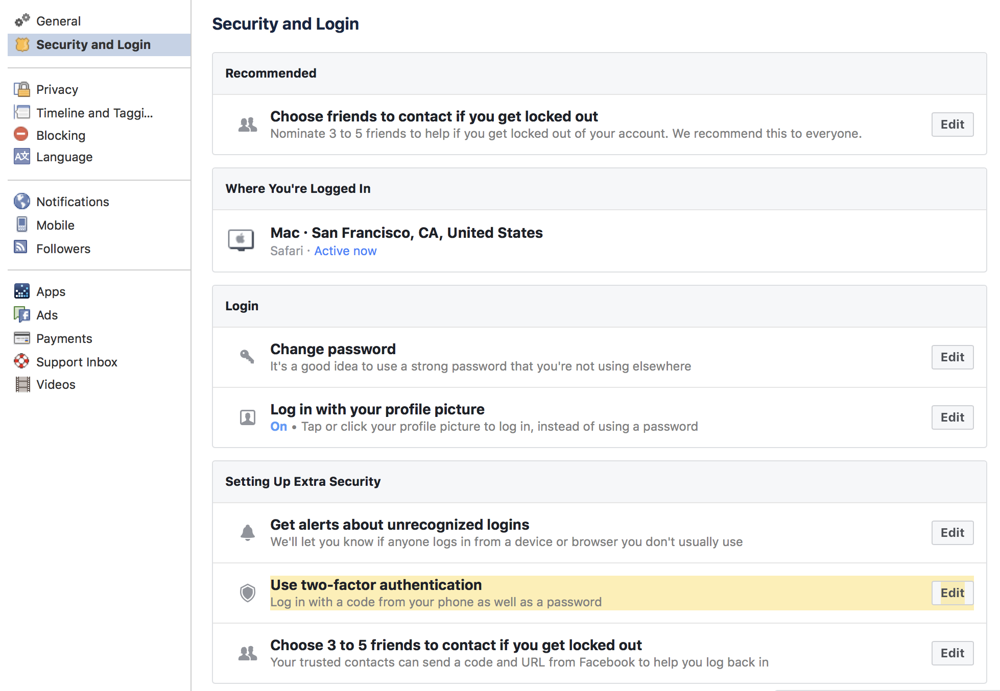How To Add A Security Key To Your Facebook (Tech Solidarity)